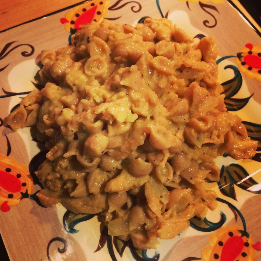 Vegan Soy Curl Mac'n Cheese